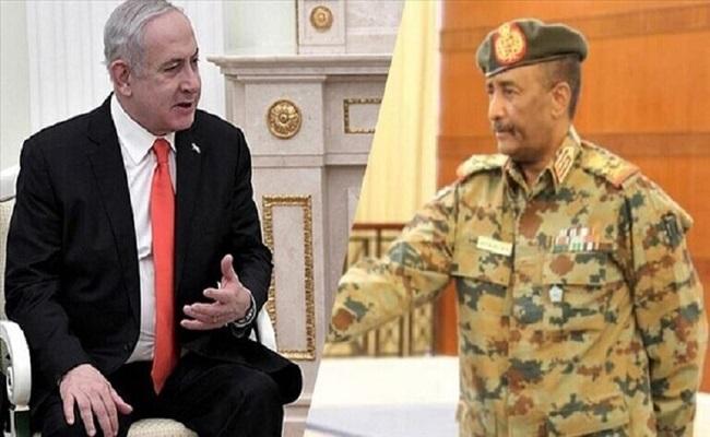 لقاء برهان مع نتنياهو طعنة للقضية الفلسطينية