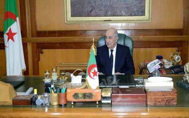 رئيس الجمهورية يستقبل رؤساء محاكم و مجالس دستورية