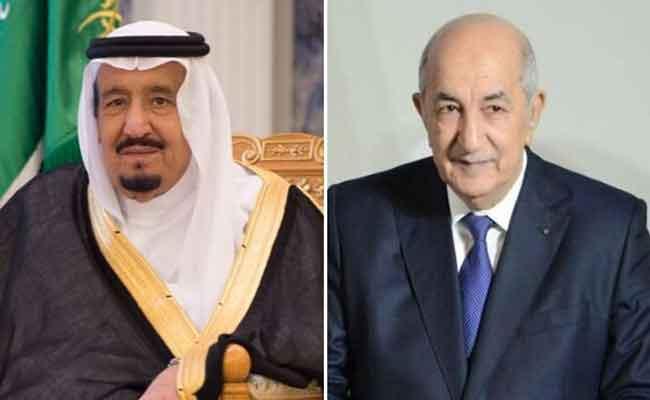 رئيس الجمهورية تبون يتلقى دعوة  من خادم الحرمين الشريفين لزيارة السعودية