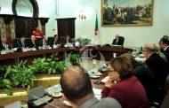 رئيس الجمهورية تبون يترأس اجتماعا لمجلس الوزراء