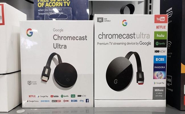 جوجل تطلق Chromecast Ultra...