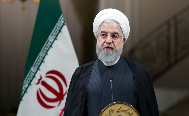 الرئيس الإيراني غير مصاب بفيروس كورونا