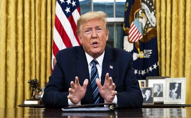 ترامب سيعلن حالة الطوارئ بالولايات المتحدة