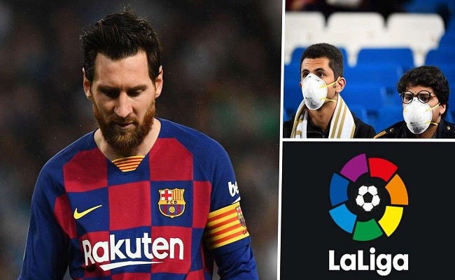 نصف مليار دولار خسائر الدوري الإسباني بسبب كورونا...