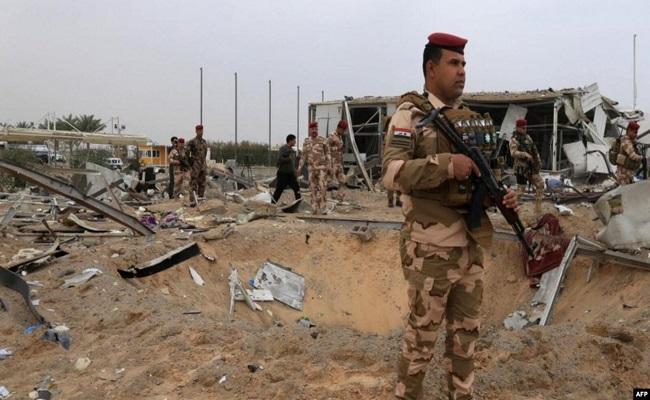 مقتل خمسة جنود ومدني بالغارات الأميركية في العراق