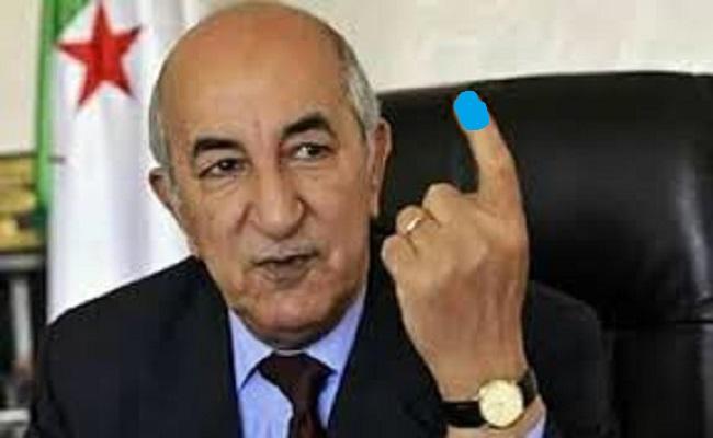 استفاقة أصحاب الأصابع الزرقاء تدفع تبون لممارسة المزيد من القمع والديكتاتورية