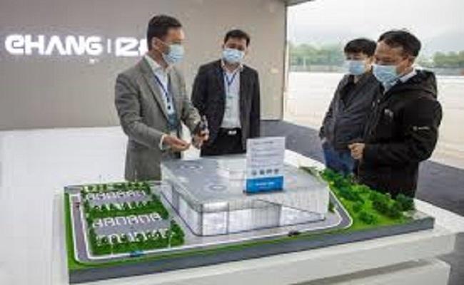 الصين تبني أول مطار في العالم لدرون...