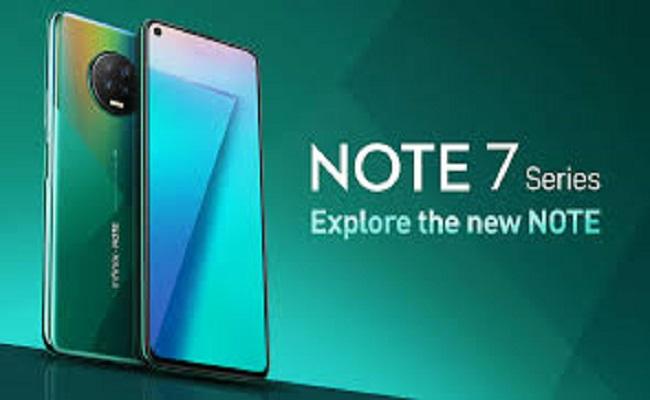 إطلاق Infinix Note 7 و Infinix Note 7 Lite...