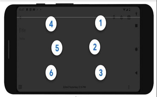 جوجل تطلق لوحة مفاتيح  مخصصة للمكفوفين...