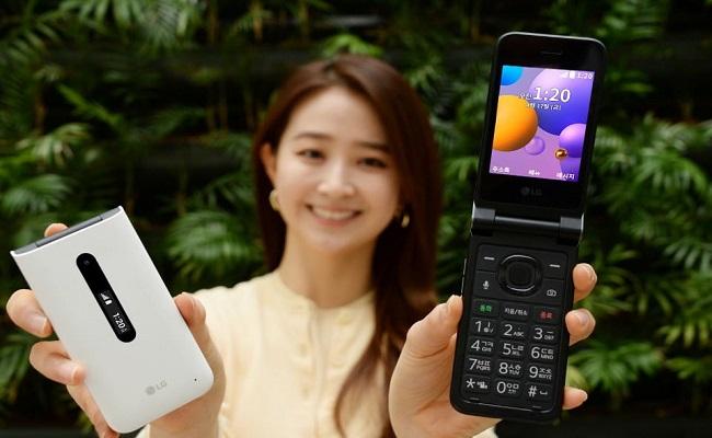 إل جي تعلن عن هاتفها الذكي البسيط LG Folder 2...