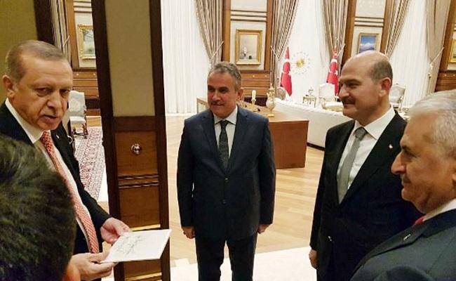 أردوغان يرفض استقالة وزير داخليته...