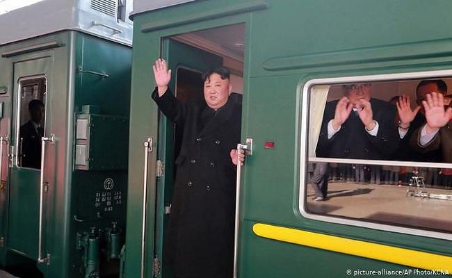 ما السر وراء تحرك القطار المصفح خاص بالزعيم الكوري الشمالي