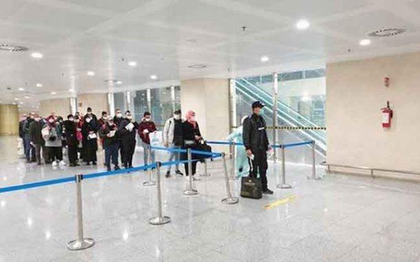 الفوج الأول من الرعايا الجزائريين العالقين بتركيا يصل إلى الجزائر