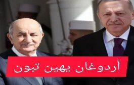 في اتصال هاتفي أردوغان يخاطب تبون بالكرغلي ويذكره بهزائم حفتر