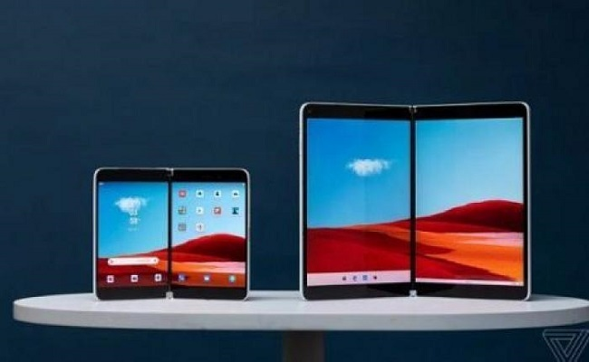 هذه هي مواصفات هاتف مايكروسوفت القابل للطي Surface Duo...