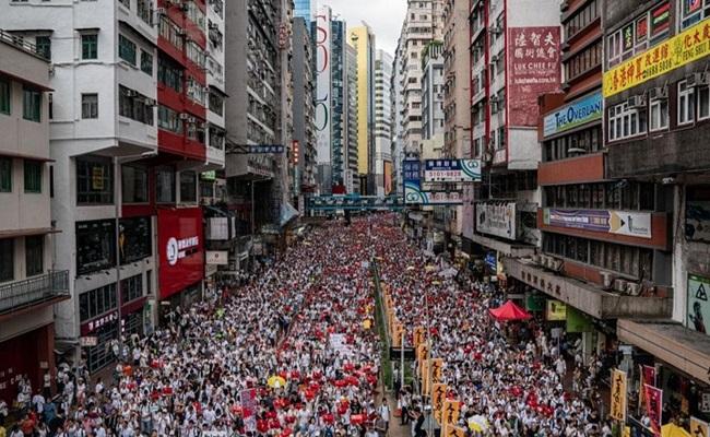 لن نغض الطرف عن مسؤولياتنا تاريخية اتجاه هونغ كونغ