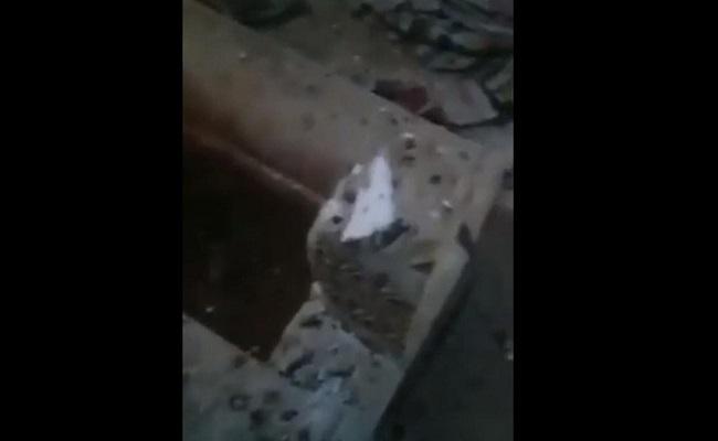 الشيعة ينبشون ويحرقون ضريح الخليفة عمر بن عبدالعزيز بسوريا