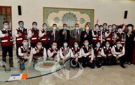 فريق الخبراء الطبيين الصيني يغادر الجزائر بعد أن أنهى مهمته بالجزائر