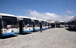 تجنيد 157 حافلة لنقل مستخدمي الصحة يوميا منذ فرض الحجر الصحي بالعاصمة
