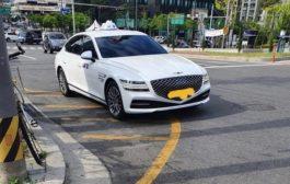 في بلدها الأم جينيسيس G80 تتحول إلى سيارة أجرة...