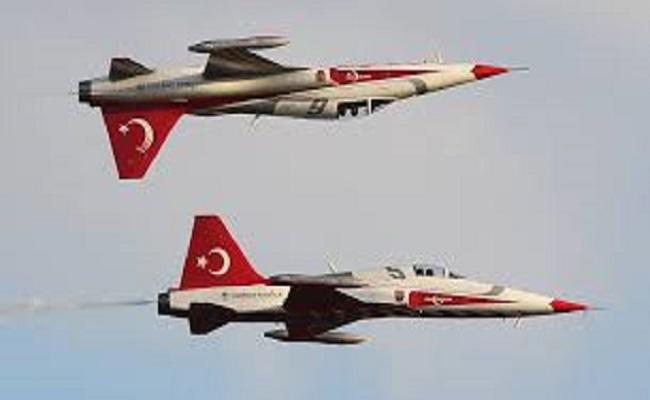 طائرات تركية تخترق المجال الجوي العراقي
