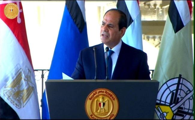 السيسي يأمر القوات الجوية المصرية بالاستعداد
