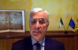 سفير إيطاليا يعرب عن