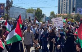 مسيرة حاشدة في فلسطين للتنديد بمخطط الضم الإسرائيل