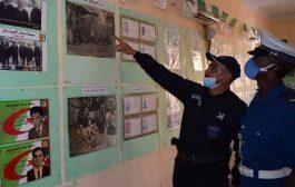 مديرية الأمن تحيي الذكرى الـ58 للاستقلال من خلال