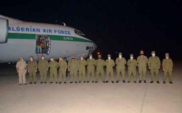 ثلاث طائرات نقل عسكرية تنقل 14 طن من مستلزمات و معدات الطبية من الصين إلى الجزائر