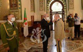 رئيس الجمهورية يثبت الفريق السعيد شنقريحة في منصب رئيس أركان الجيش الوطني الشعبي