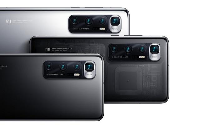 هاتف  Xiaomi Mi 10 Ultraيدعم الشحن السريع...