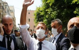 لبنانيون يطالبون ماكرون بتحرير بلادهم من حزب الله