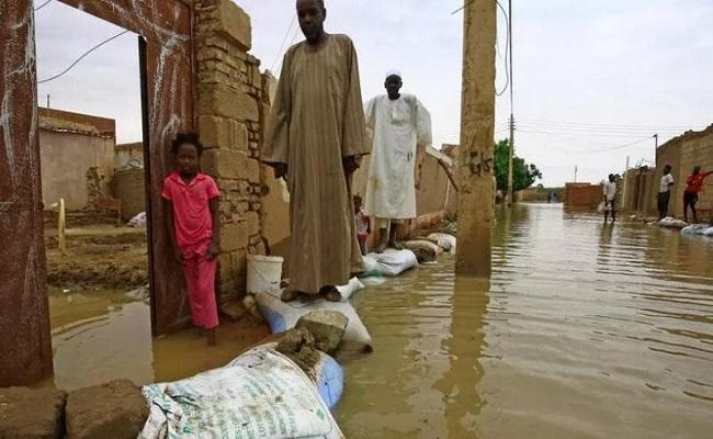 89 قتيلا هي حصيلة فيضانات السودان