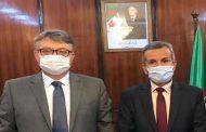 بن بوزيد يتطرق مع سفير روسيا بالجزائر إلى مدى جاهزية لقاح كورونا