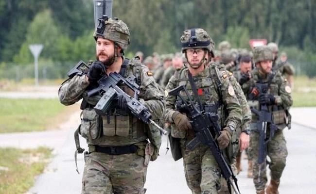 لأول مرة الجنود الإسبان يتظاهرون للمطالبة بزيادة رواتبهم