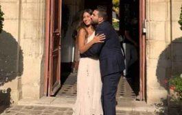 هبة طوجي وابراهيم معلوف يتوجان قصة حبهما بالزواج في فرنسا...