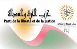 حزب الحرية و العدالة يأمل في