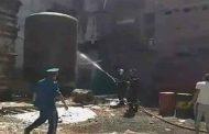 انفجار مخزن للزيوت بمحطة حمر العين بتيبازة يخلف إصابة عامل بحروق من الدرجة الثالثة