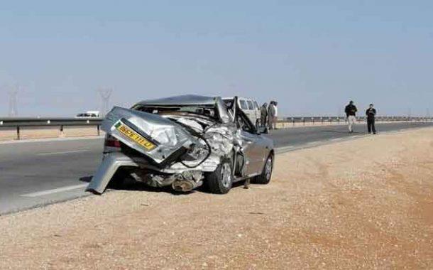 اصطدام تسلسلي لثلاث مركبات يخلف قتيلان و 6 مصابين بالأغواط