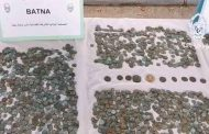 أمن باتنة يسترجع أكثر من 5000 قطعة نقدية أثرية و يوقف شخصين