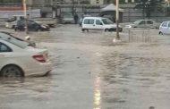 السيول تغمر عشرات المساكن و تعطل حركة مرور السيارات ببلدية انسيغة بخنشلة