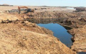 بالوادي OK1 وفد وزاري رفيع المستوى يحط الرحال بمكان تسرب النفط من أنبوب