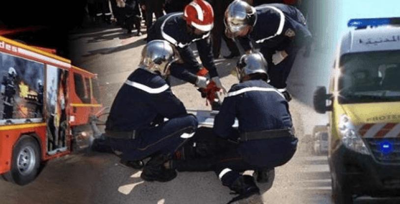 حوادث نهاية الأسبوع 5 حرائق في 5 ولايات و935 جريح و 9 قتلى في حوادث مرور