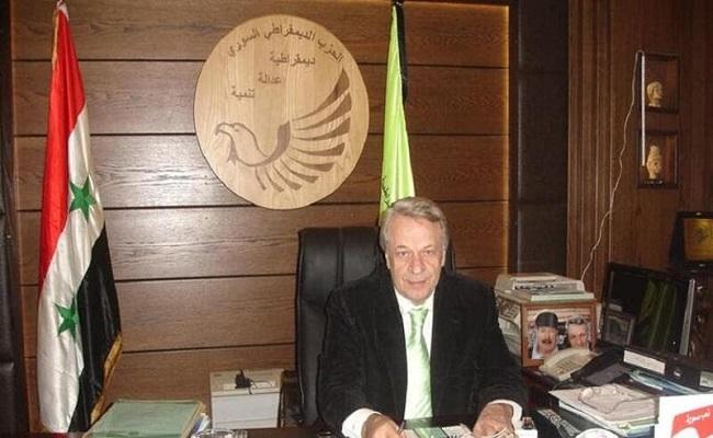 مصرع الأمين العام لأحد الأحزاب السورية