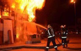 نشوب حريق بمصنع خاص للنسيج بشلغوم العيد بميلة