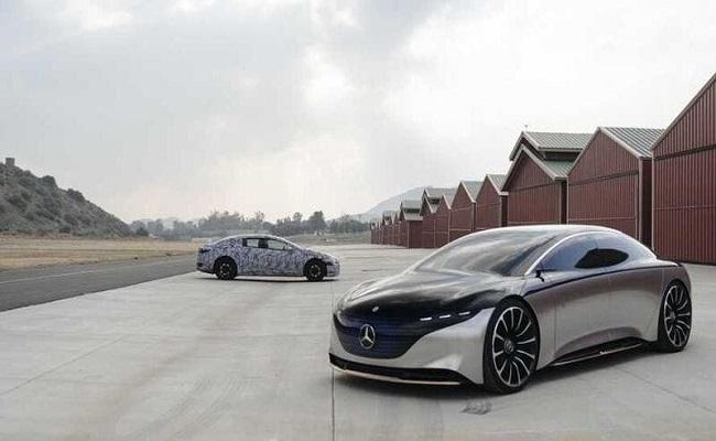 مرسيدس تستعد لإنتاج السيارات الكهربائية...