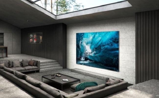 سامسونغ تطلق تلفاز 110 بوصة بتقنية  MicroLED...