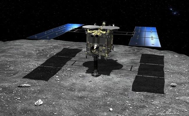 اليابان تحضر عينات من كويكب يبعد عنا نحو 290 مليون كم...