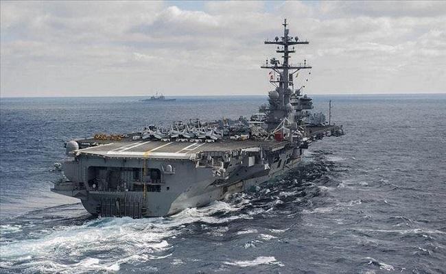 واشنطن تسحب حاملة طائرات من الخليج